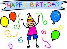 Mijn verjaardag vector illustratie