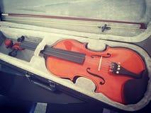 Mijn viool stock fotografie