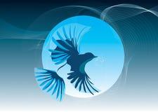 Mijn vogel stock illustratie