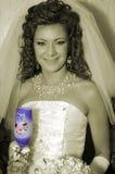Mijn zoete vrouw Stock Foto