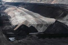 Mijnbouw in Cottbus stock afbeeldingen
