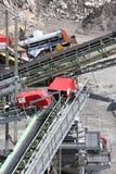 Mijnbouw in de steengroeve Royalty-vrije Stock Afbeelding