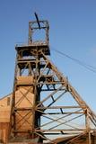 Mijnbouw Headframe stock afbeeldingen