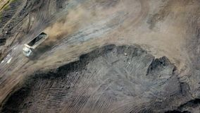 Mijnbouw Luchtborneo Indonesië royalty-vrije stock foto's