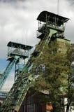 Mijnbouw torens royalty-vrije stock foto