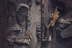 Mijnbouw van hierboven Royalty-vrije Stock Fotografie