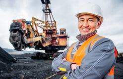 Mijnbouwarbeider Stock Afbeelding