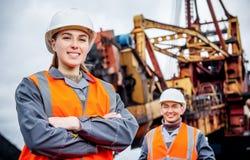 Mijnbouwarbeiders royalty-vrije stock afbeeldingen