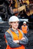 Mijnbouwarbeiders royalty-vrije stock fotografie