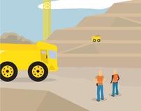 Mijnbouwgebied Royalty-vrije Stock Afbeelding
