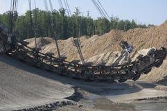 Mijnbouwmachine Stock Afbeelding