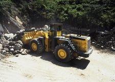 Mijnbouwmateriaal Bulldozer Royalty-vrije Stock Fotografie