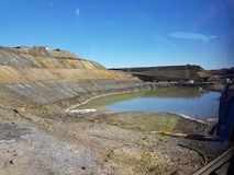Mijnbouwmeer Stock Foto's