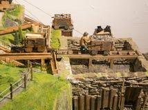 Mijnbouwmuseum de Zuid- van Tirol De mijn ridanna-Monteneve was in operati Stock Foto