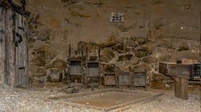 Mijnbouwmuseum de Zuid- van Tirol De mijn ridanna-Monteneve was in operati Stock Fotografie