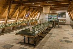 Mijnbouwmuseum de Zuid- van Tirol De mijn ridanna-Monteneve was in operati Stock Foto's