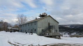 Mijnbouwstad Royalty-vrije Stock Afbeelding