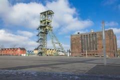 Mijnbouwtoren als gedenkteken Royalty-vrije Stock Foto