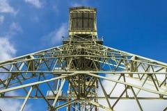 Mijnbouwtoren als gedenkteken Royalty-vrije Stock Fotografie