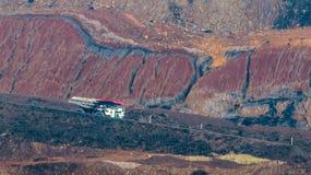 Mijnbouwvrachtwagen royalty-vrije stock afbeeldingen