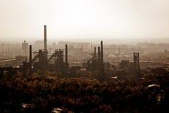 Mijnen en de industrie in Tsjechische Republiek royalty-vrije stock foto's