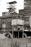 Mijnen in Silesië Stock Afbeeldingen