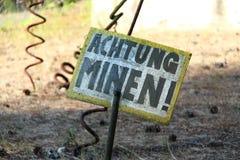 mijnenveld Stock Foto's