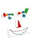 Mijnheer Chart Royalty-vrije Stock Foto's