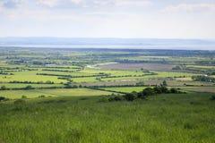 Mijningang en Somerset Levels Royalty-vrije Stock Afbeeldingen