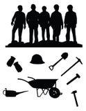 Mijnwerkers Stock Afbeeldingen