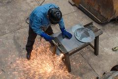 Mijnwerkerswinkel Stock Foto