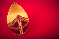 Mijter of sinterklaas Stock Photography