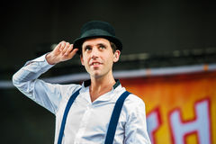 Mika concert Royalty Free Stock Photography