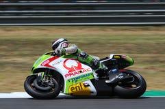 Mika Kallio DUCATI MotoGP 2012 Stock Photography