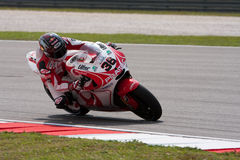 Mika Kallio am ShellMalaysian Motogp Stockbild
