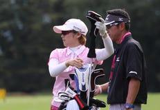 Mika Miyazato (JPN) Evian domina 2011 Imagem de Stock