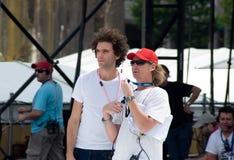 Mika On Australian Idol Stock Photo