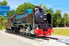 Mikado Parowa lokomotywa Zdjęcia Stock