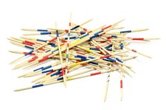 Mikado pick-up sticks Stock Photos