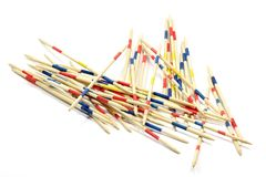 Mikado pick-up sticks Stock Image