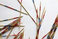 Mikado pinnelek Arkivbild