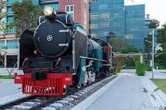 Mikado Steam Locomotive Stock Photography
