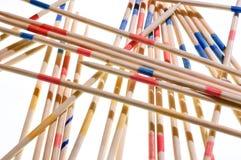 Mikado sticks, isolated on white Stock Photography