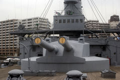 Mikasa Battleship Museum, Yokosuka, Japan Stock Photography