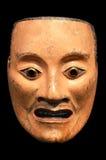 Mikazuki, Noh męski duch maska. Obraz Stock