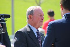 Mike Bloomberg royalty free stock photo
