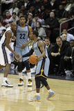 Mike Conley et Rudy Gay photo stock