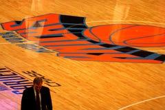 Mike d'antony während während NBA Knicks der Abgleichung Lizenzfreie Stockfotografie