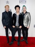 Mike Dirnt, Billie Joe Armstrong, Tre Cool Royalty Free Stock Images