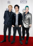 Mike Dirnt, Billie Joe Armstrong, Tre Cool Stock Photo